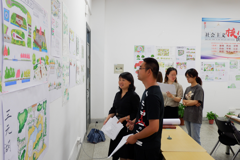 公用事业学院开展第二届家博园艺杯景观设计大赛