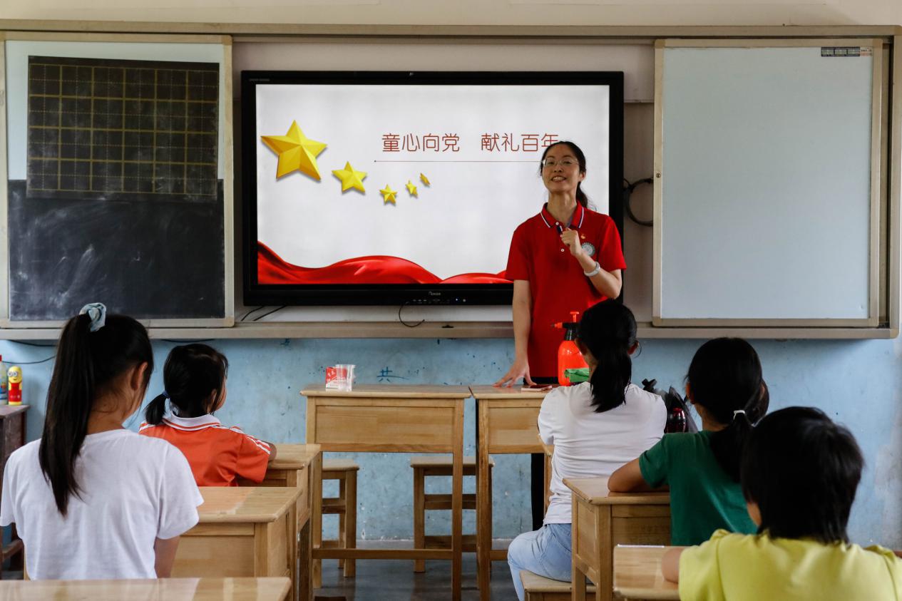 江苏城乡建设职业学院:党史教育课送进革命老区